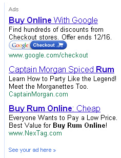 Google Changes Alcohol policy