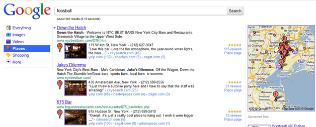 Google Place Search in Action