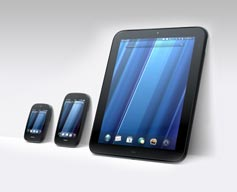 HP Touchpad, Veer, and PRE3
