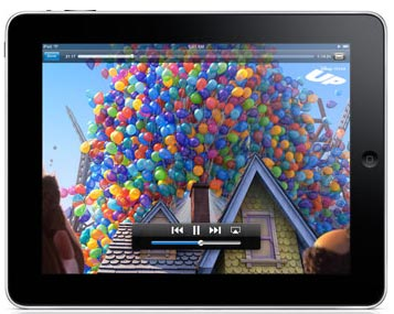 iPad playing online video